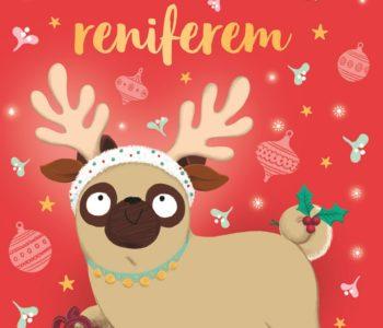 Mopsik, który chciał zostać reniferem! Idealna lektura na nadchodzące Święta