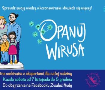 Bezpłatne webinaria o koronawirusie dla dzieci