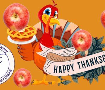 Tematyczne zajęcia językowe z native speakerem – Thanksgiving