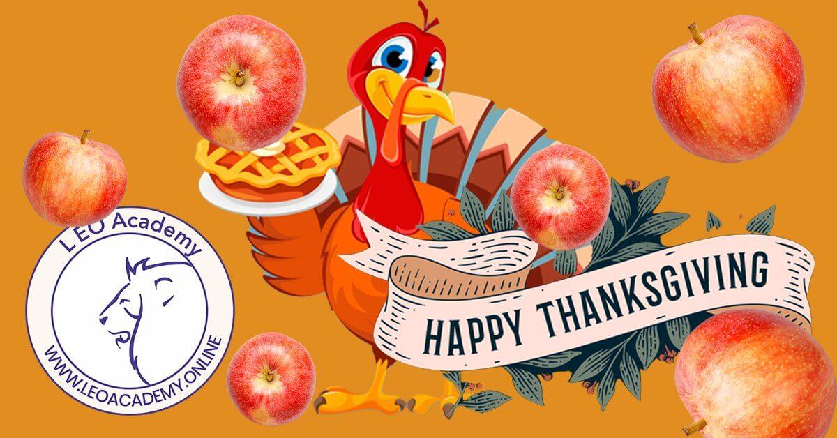 Tematyczne zajęcia językowe z native speakerem - Thanksgiving
