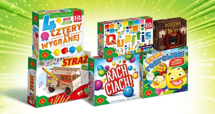 Konkurs mikołajkowy! Wygraj gry i zabawki od firmy Alexander