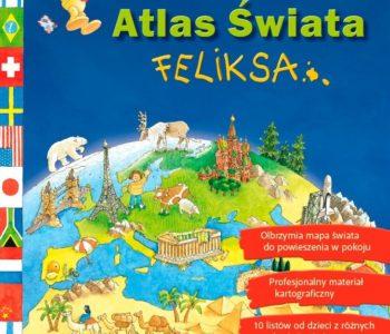 Wielki Atlas Świata Feliksa – książka