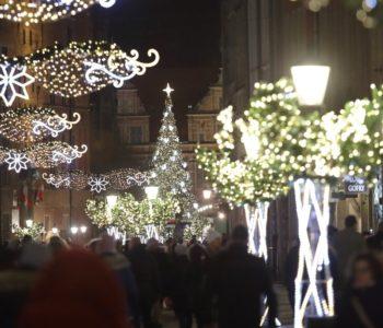 Świąteczne iluminacje i wizyta Świętego Mikołaja w Gdańsku