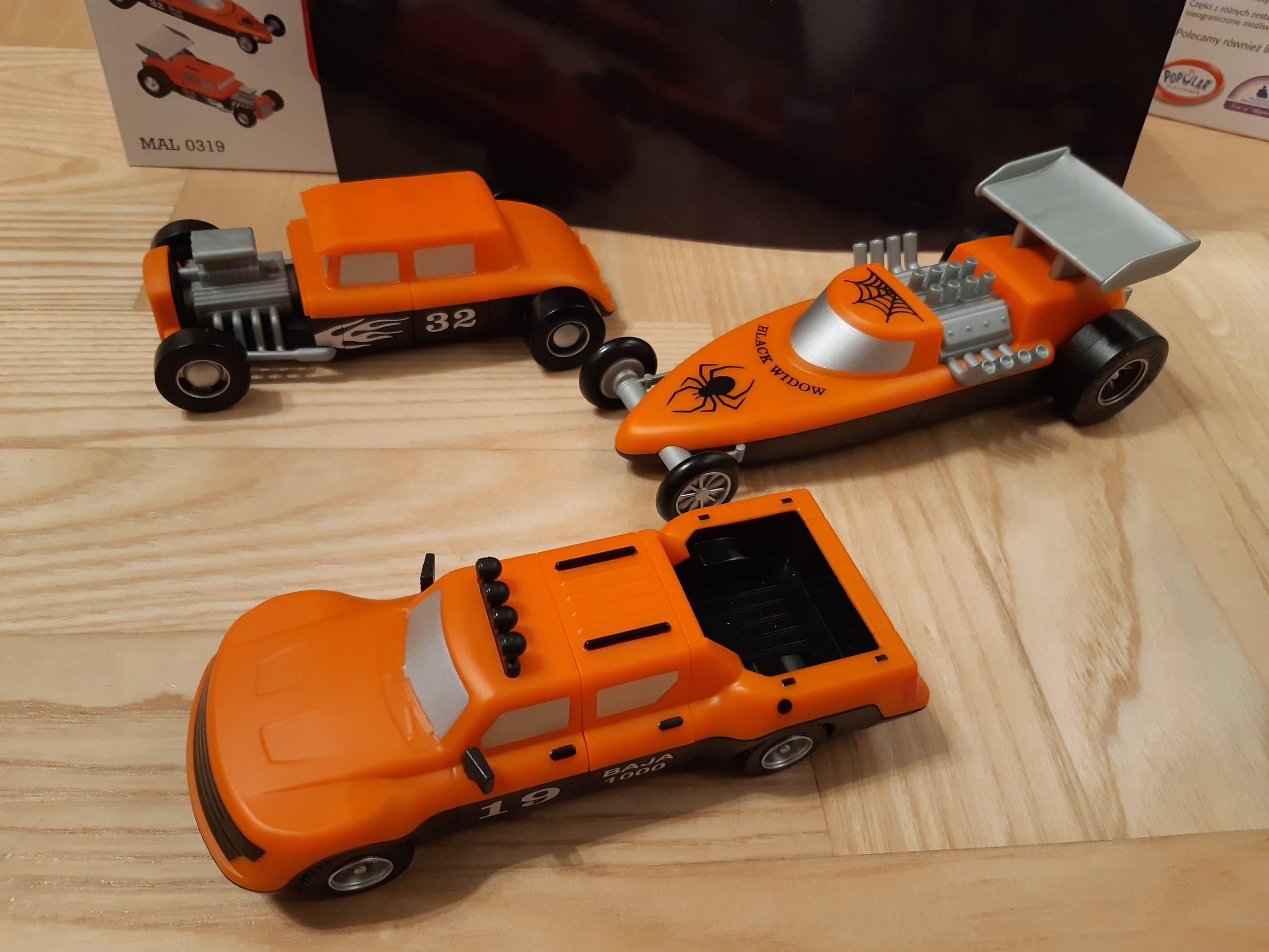 Kreatywne pojazdy pod choinkę