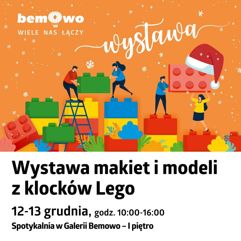 Galeria Bemowo zaprasza na wystawę makiet i modeli z klocków LEGO®