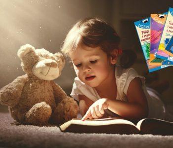 Dobre czytanki – dziewczynka czyta książkę