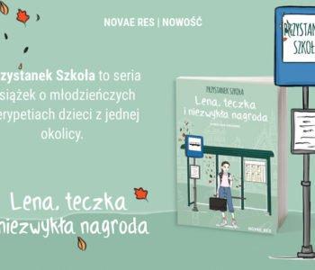 Lena, teczka i niezwykła nagroda, książka dla dzieci, recenzja książki