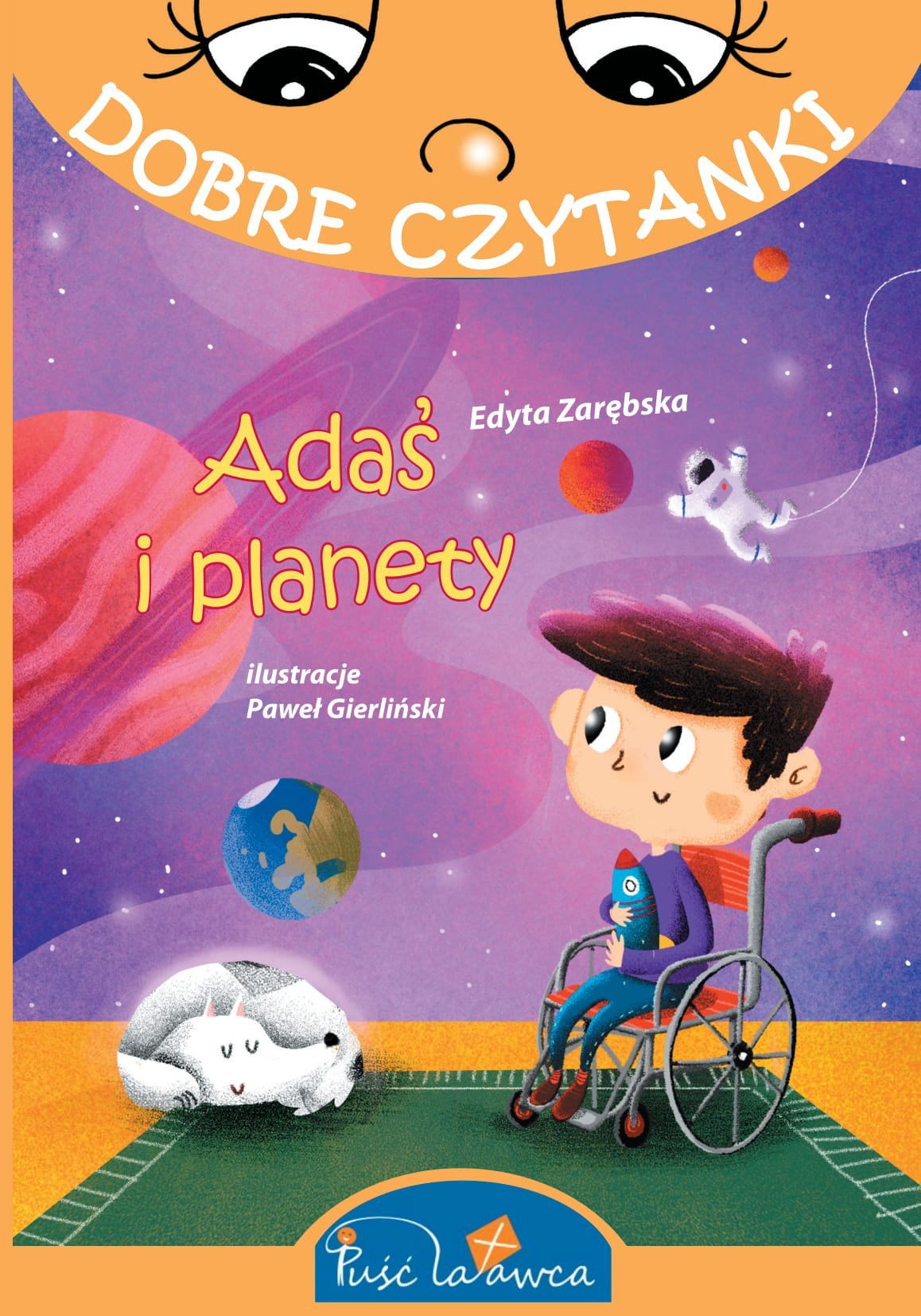 Okładka Adaś i planety