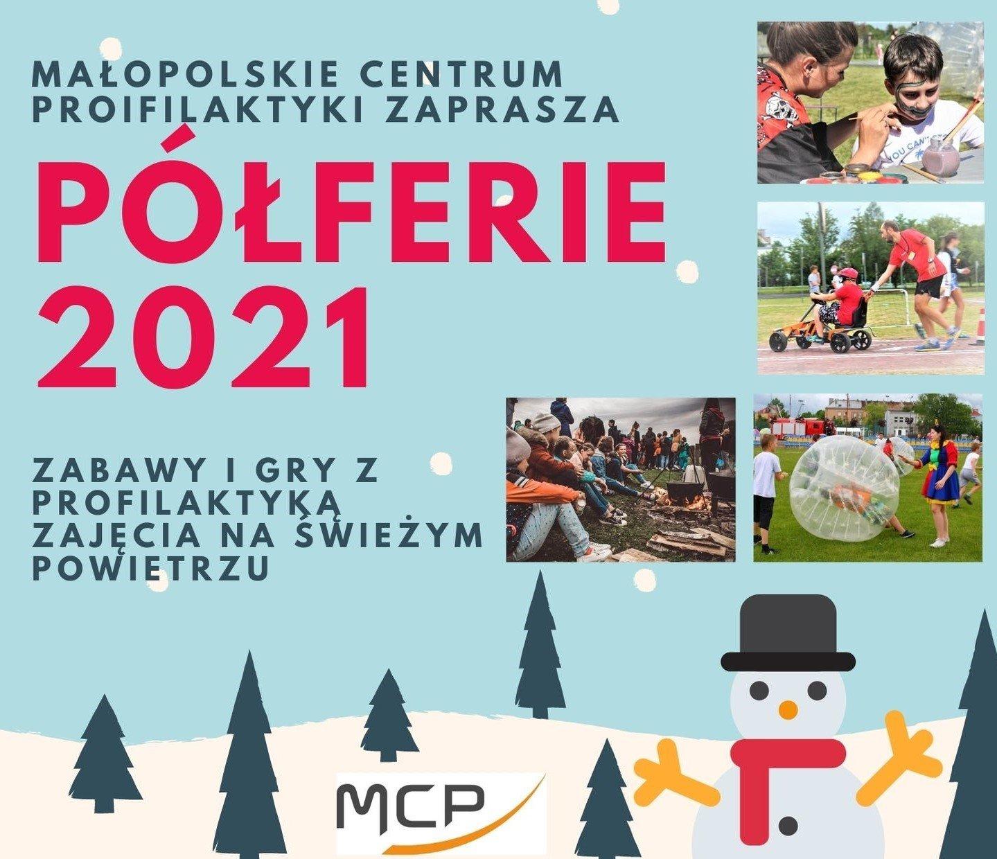 Półferie 2021 - eventy dla dzieci i młodzieży