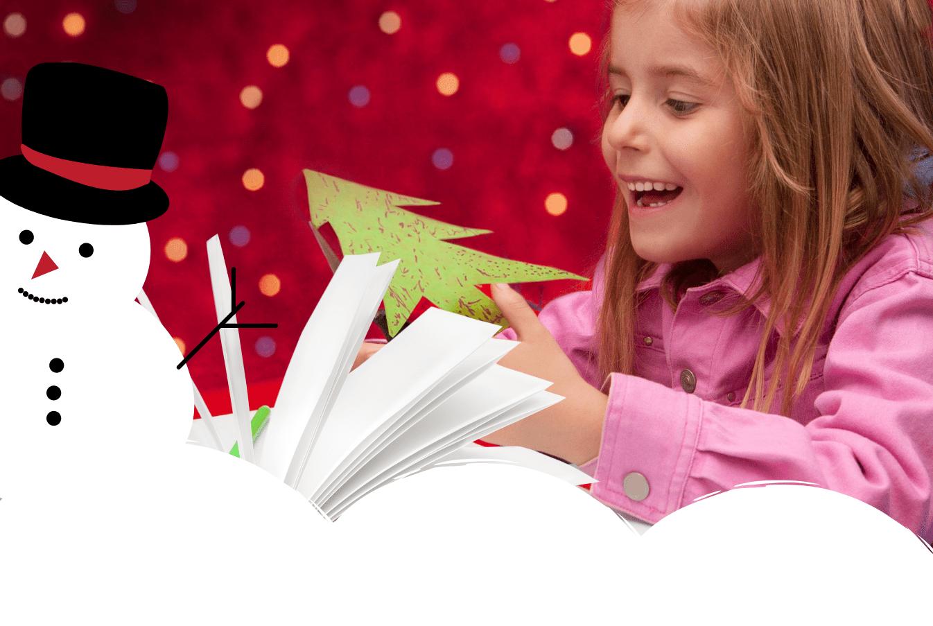 Świąteczne zakładki do książek do wydruku za darmo - pomysł na prezent na Boże Narodzenie