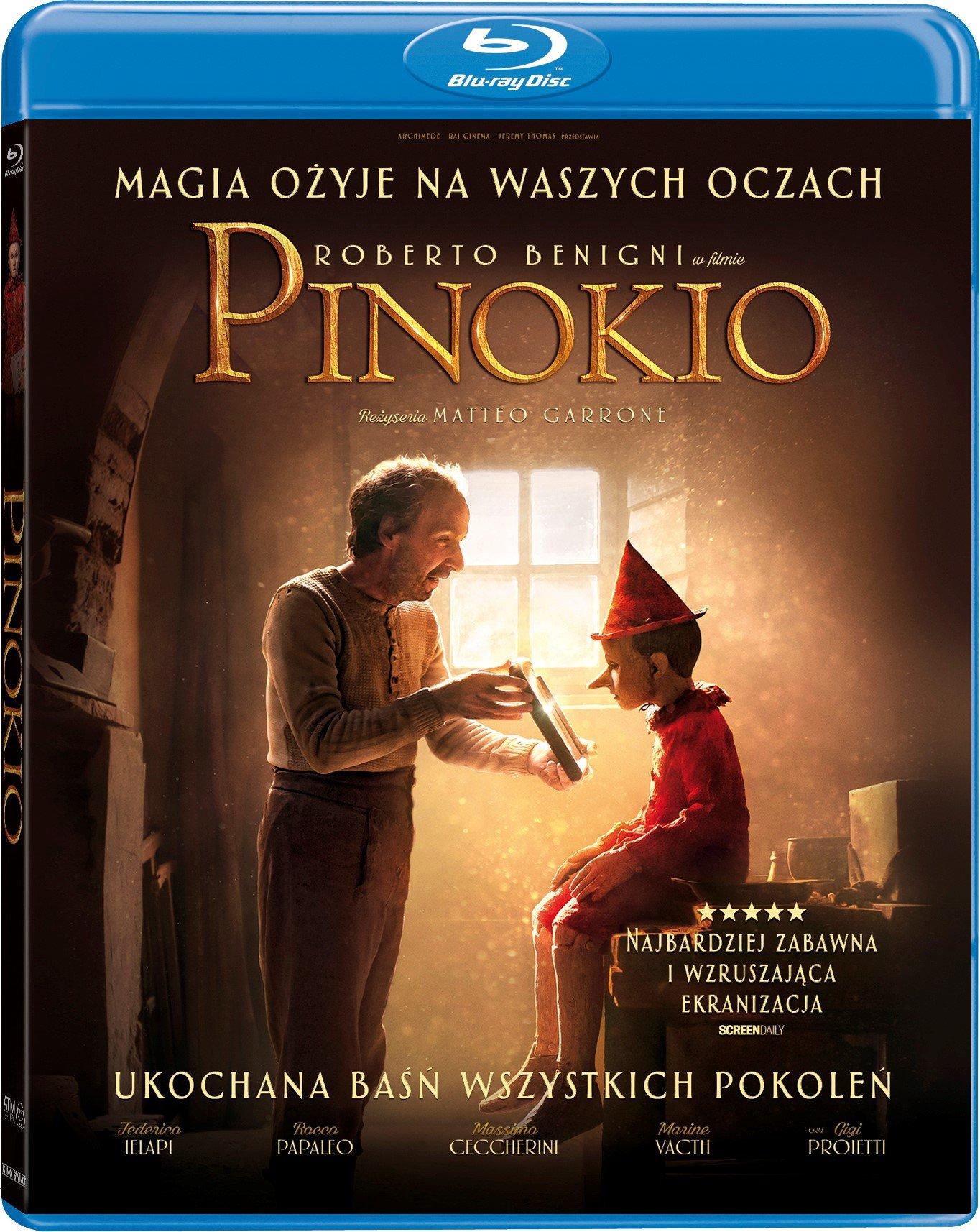 Pinokio - pełna przygód, mądrości i humoru najnowsza ekranizacja już na DVD i Blu-Ray