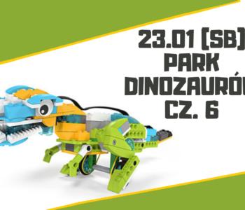 Park Dinozaurów (7+ lat) – warsztaty