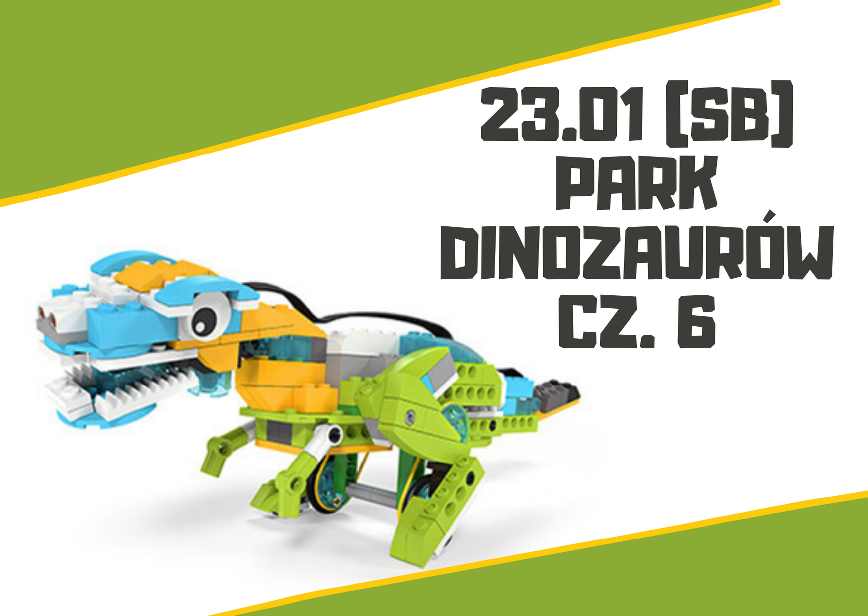 Park Dinozaurów (7+ lat) - warsztaty