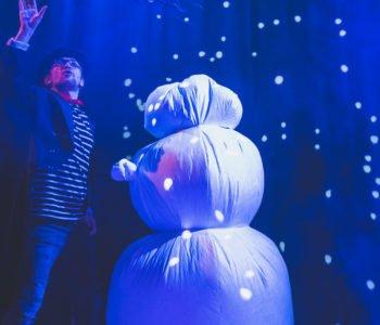 #balwanjaktalala – śniegowe wyzwanie Teatru Miejskiego w Gliwicach