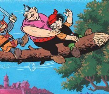 Quiz Kajko i Kokosz szkoła latania