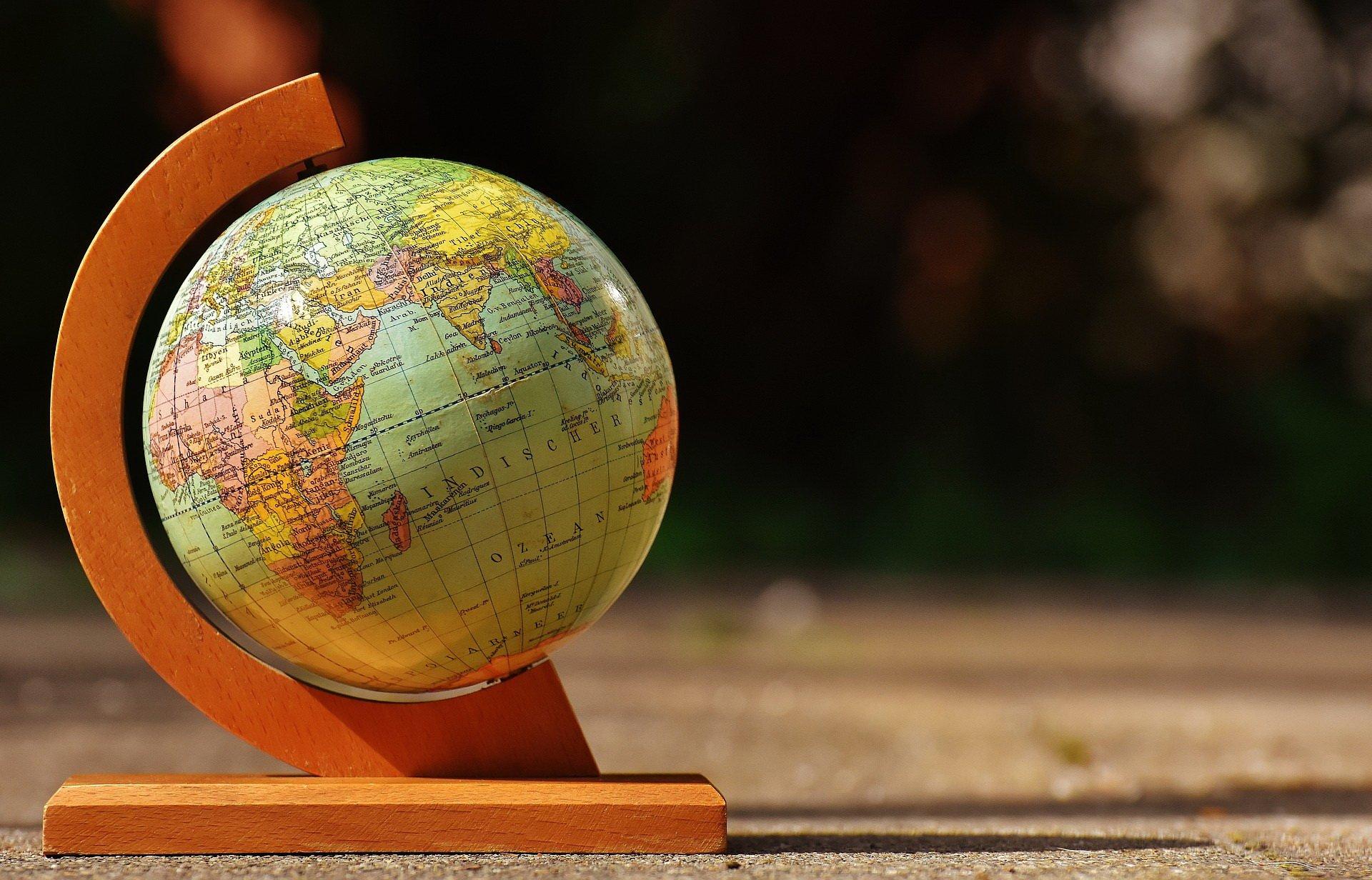 Quiz mapa świata, test o mapie świata, Quizy dla dzieci