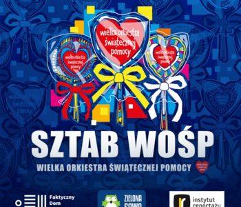 Wydawnictwo Zielona Sowa i Instytut Reportażu wspólnie dla WOŚP