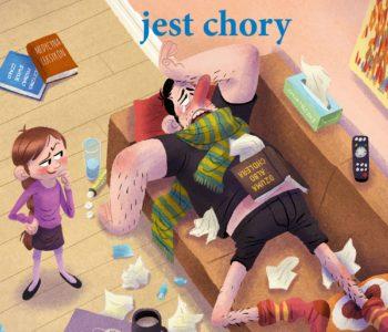 Tata Oli jest chory - nowa książka z serii Tata i Małolata