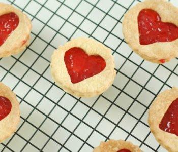 Przepis na walentynkowe ciasteczka z serduszkiem