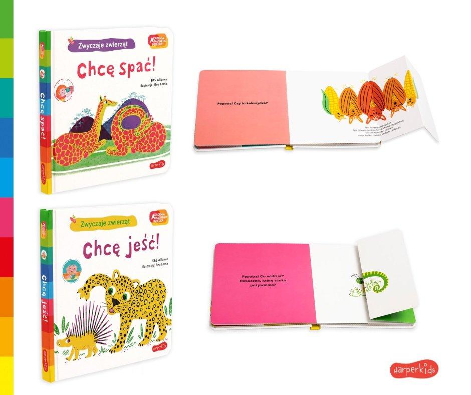 Akademia Mądrego Dziecka - Radosne odkrywanie świata! Książeczki dla najmłodszych