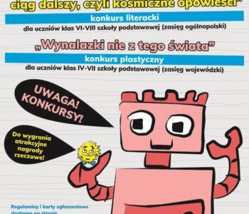 Bajek robotów ciąg dalszy, czyli kosmiczne opowieści – konkurs literacki