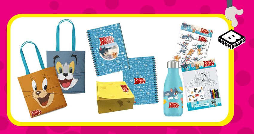 Tom i Jerry Show – wygraj gadżety od telewizji Boomerang
