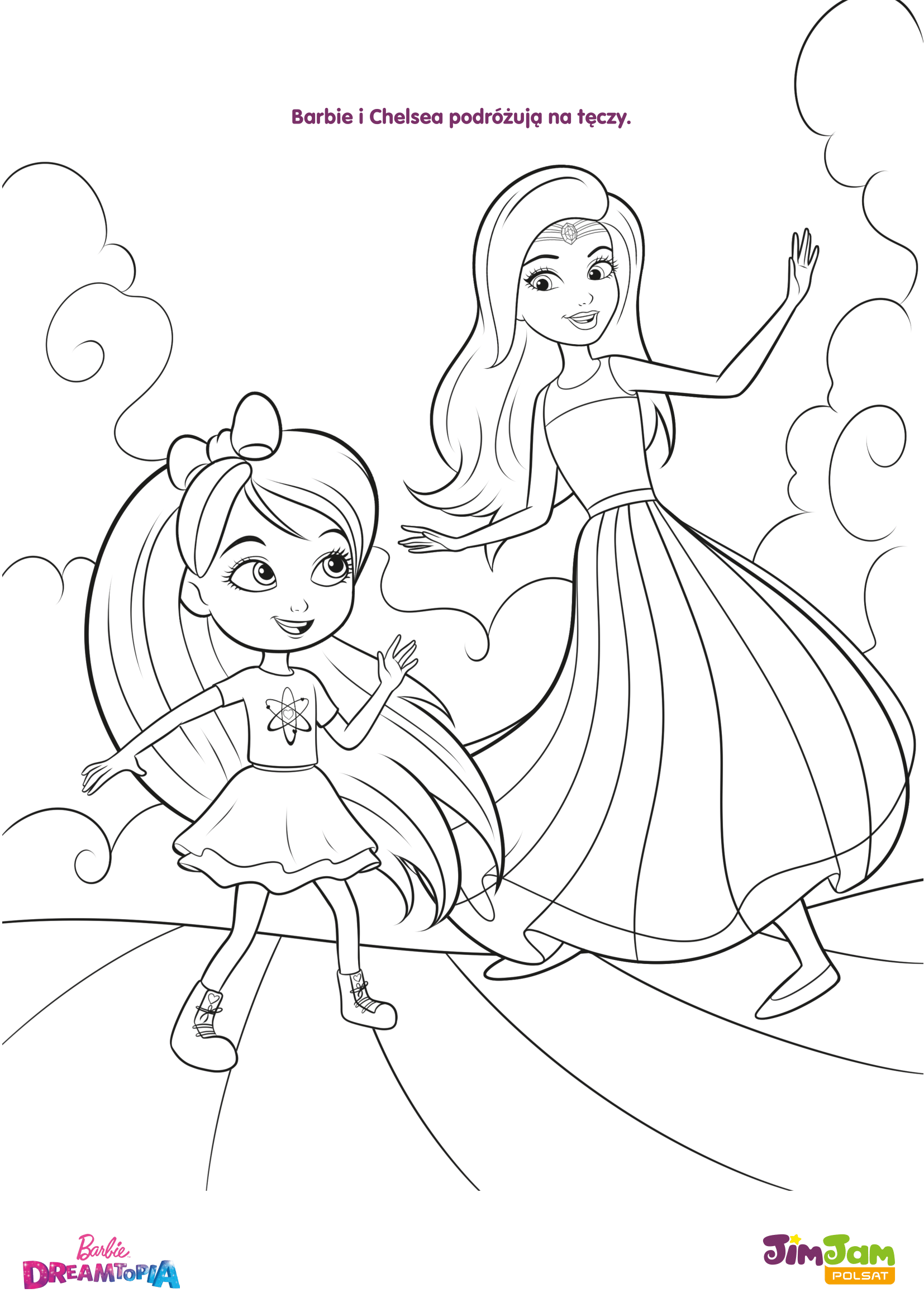 Barbie i Chelsea na tęczy – Barbie Dreamtopia POLSAT JimJam