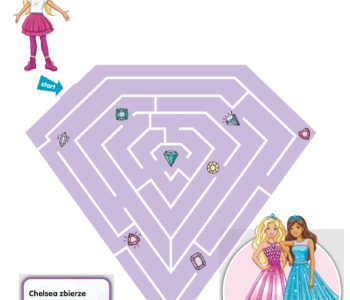 Labirynt Chelsea Barbie Dreamtopia-zabawa