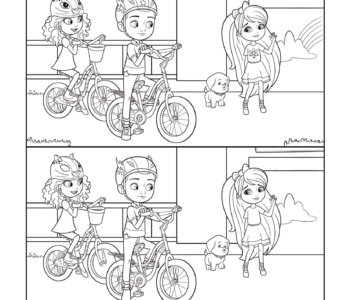 Barbie Dreamtopia-kolorowanka i zabawa