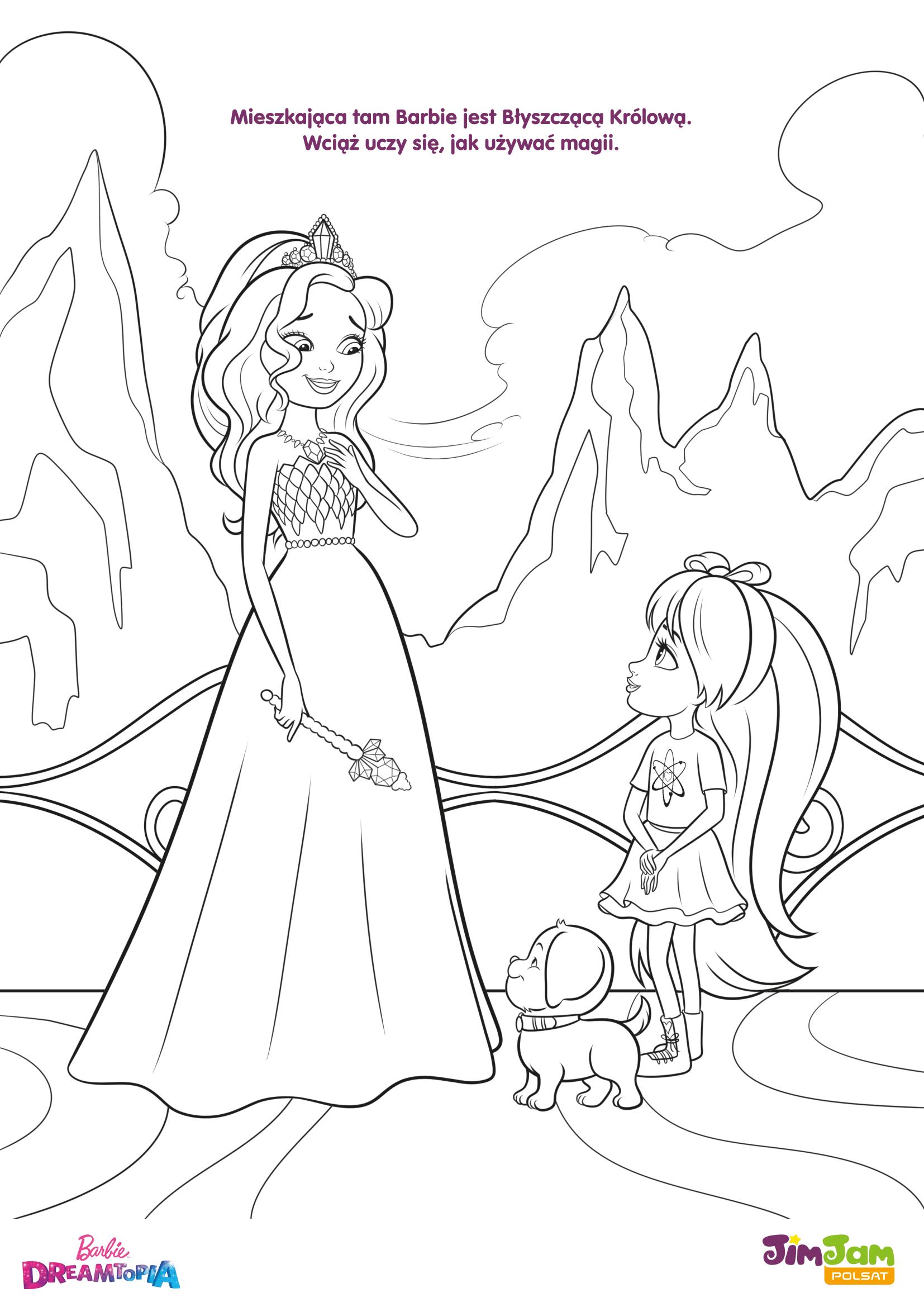 Barbie Błyszcząca Królowa – Barbie Dreamtopia POLSAT JimJam