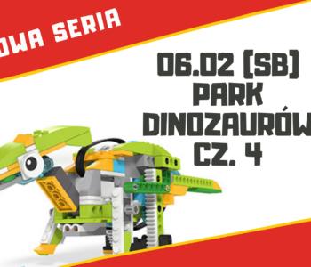 Park Dinozaurów – warsztaty robotyki dla dzieci 7+ lat