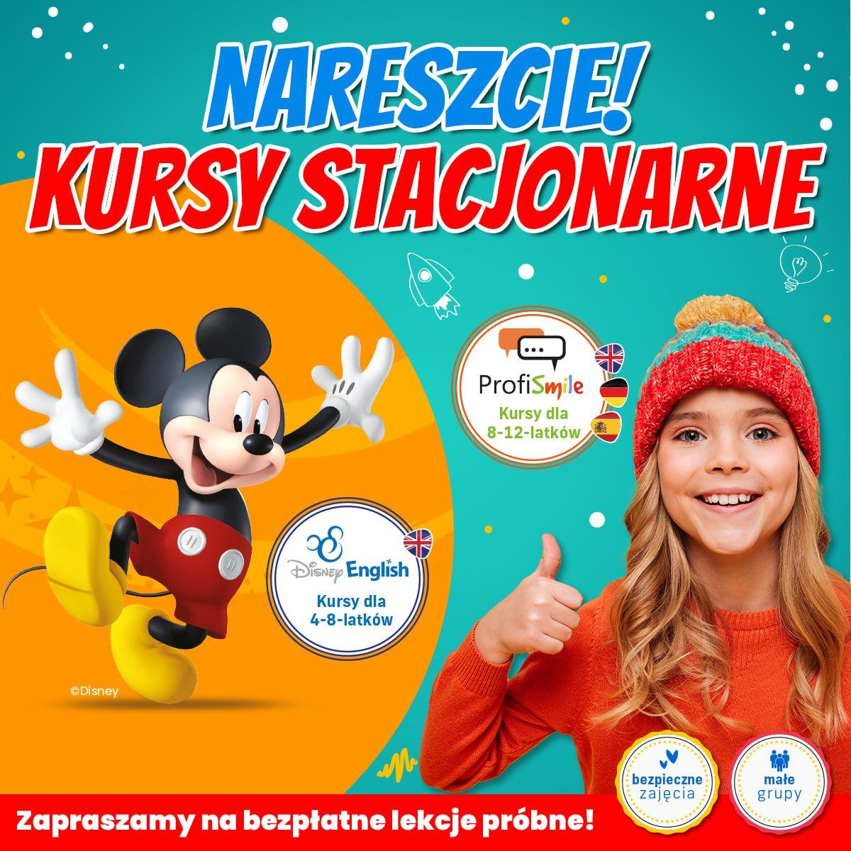Pokazowe lekcje Disney English w ProfiLingua Katowice!