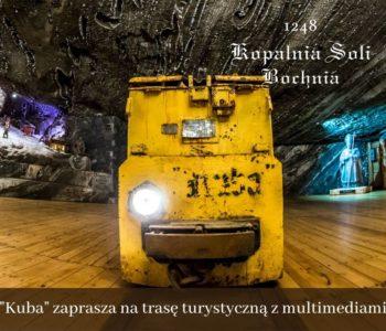Trasa turystyczna z ekspozycją multimedialną w Kopalni Soli Bochnia