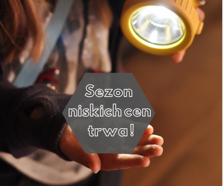 Zwiedzanie Kopalni Soli Bochnia - sezon niskich cen!