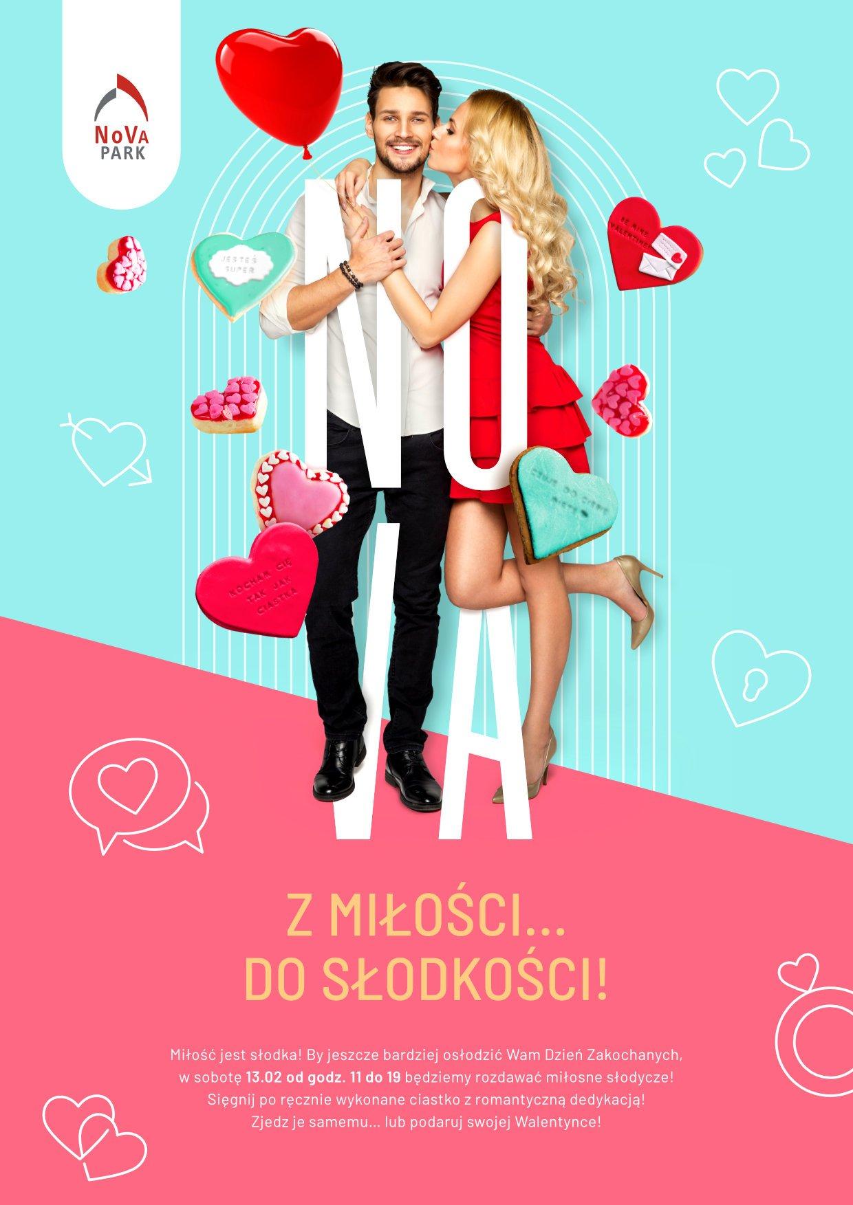 Miłosne słodycze na Walentynki od NoVa Park