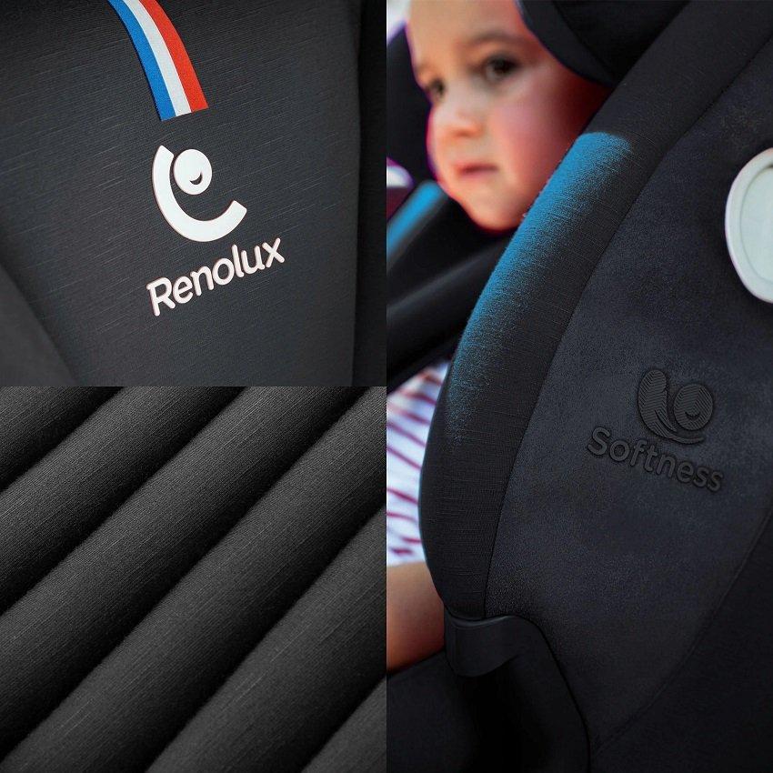 fotelik samochodowy firmy Renolux