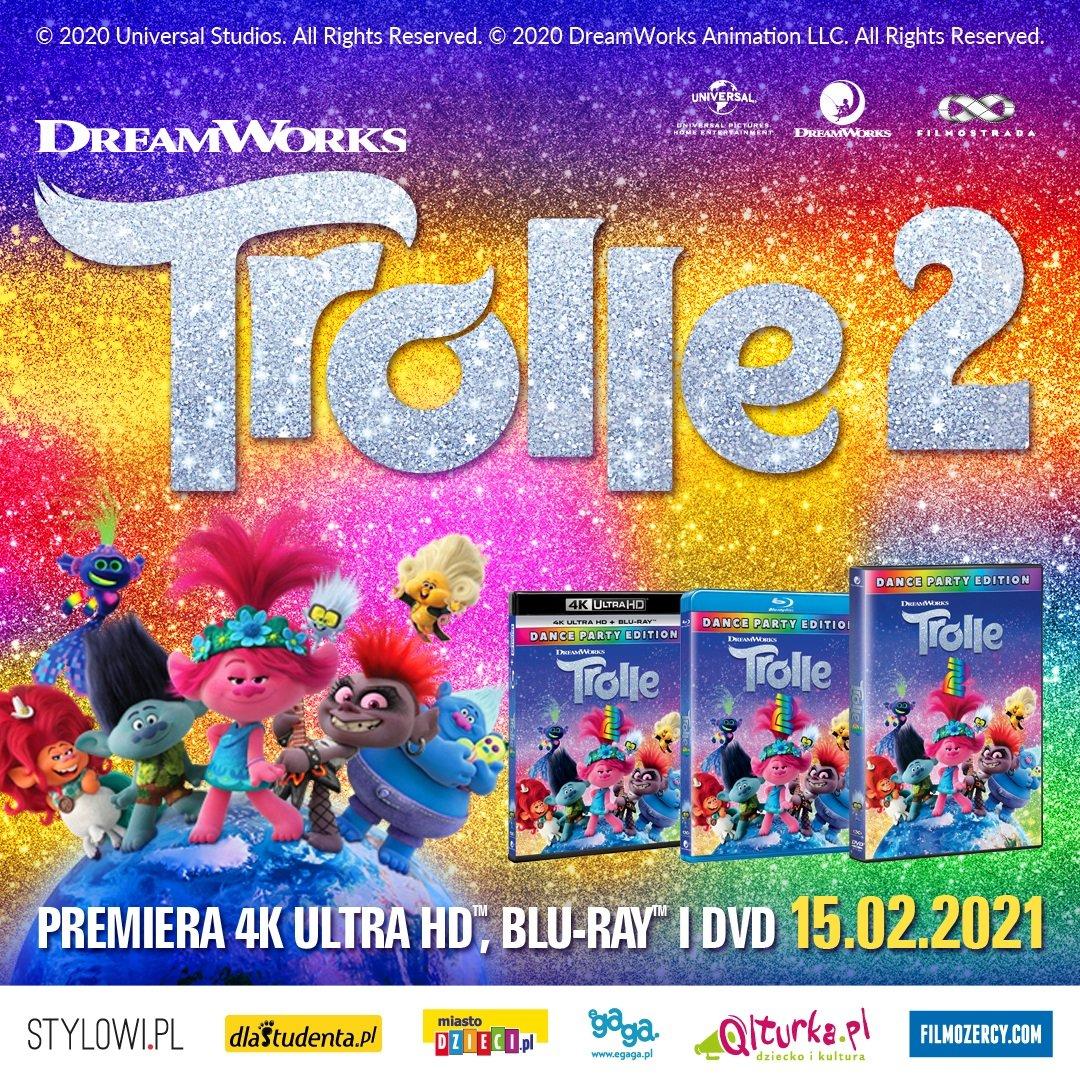 Trolle 2 - premiera wyjątkowego wydania DVD, 4K UHD i BLU-RAY z dodatkami