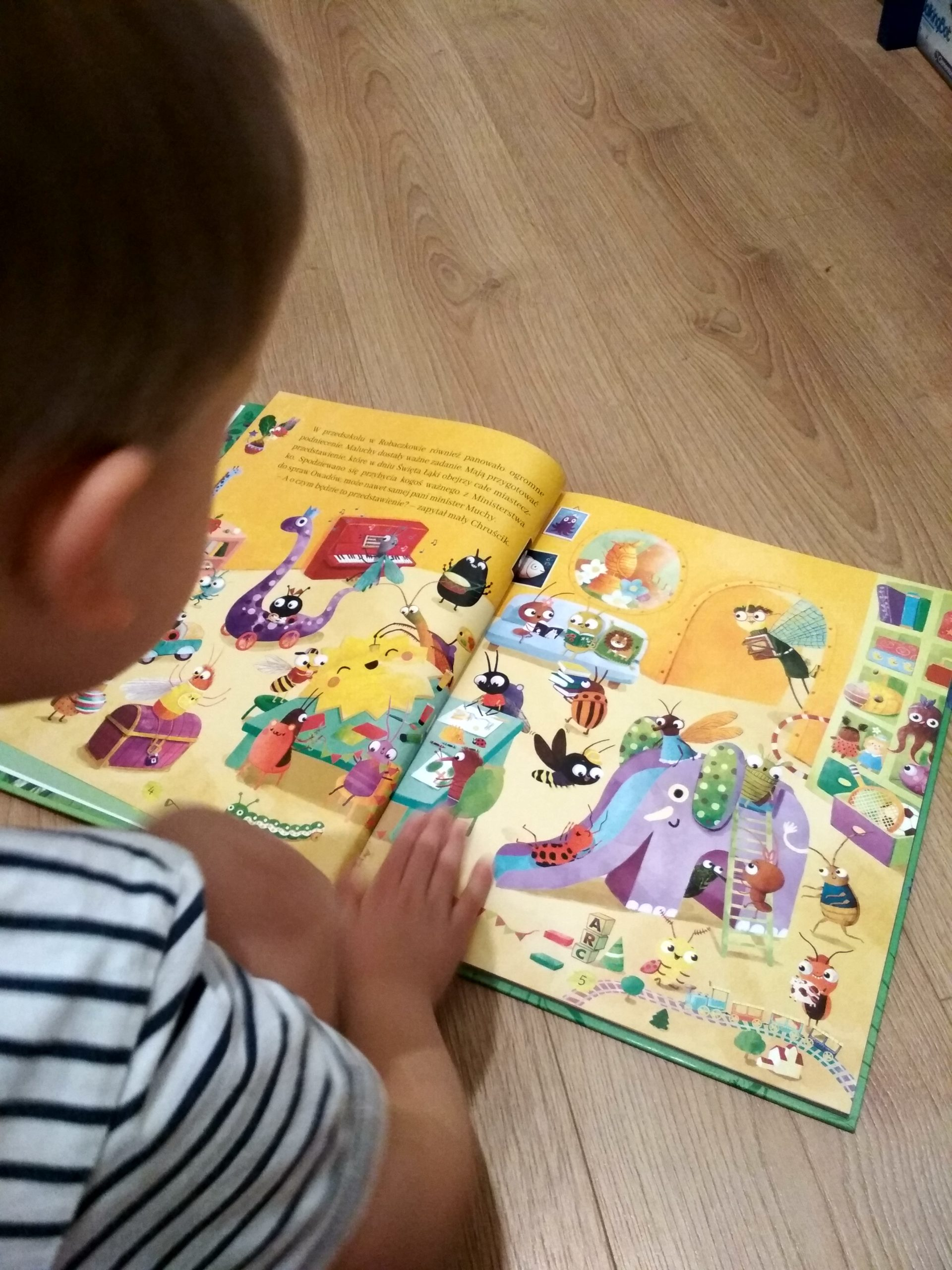 W Robaczkowie recenzja książki dla dzieci