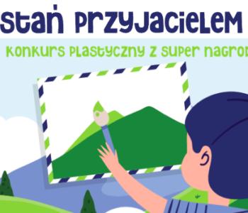 Zostań przyjacielem gór – konkurs plastyczny