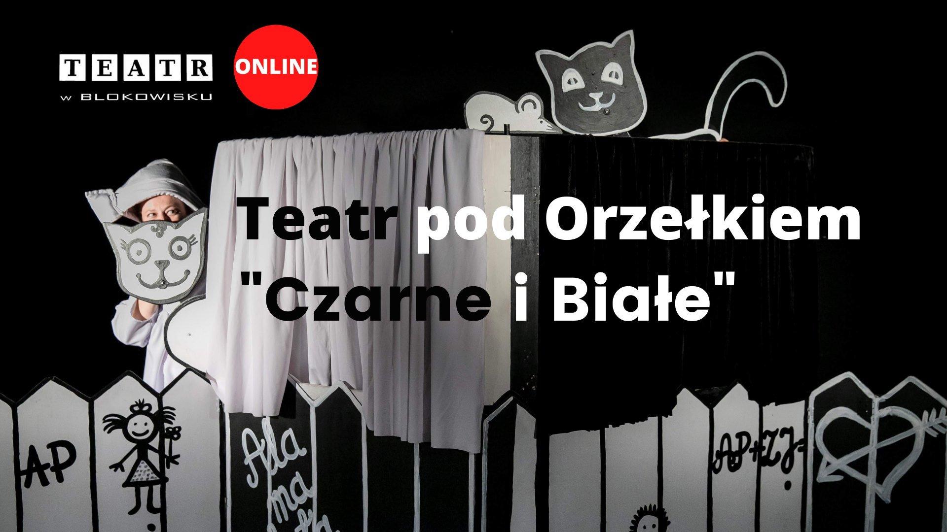 Spektakl dla dzieci: Teatr pod Orzełkiem - Czarne i Białe