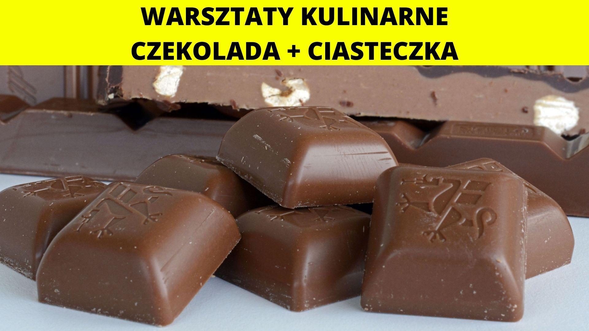 Kulinarne inspiracje - warsztaty czekoladowe + pieczenie ciasteczek