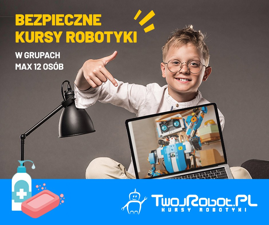 Bezpłatna lekcja pokazowa! Robotyka i programowanie Lego EV3 8-12 lat