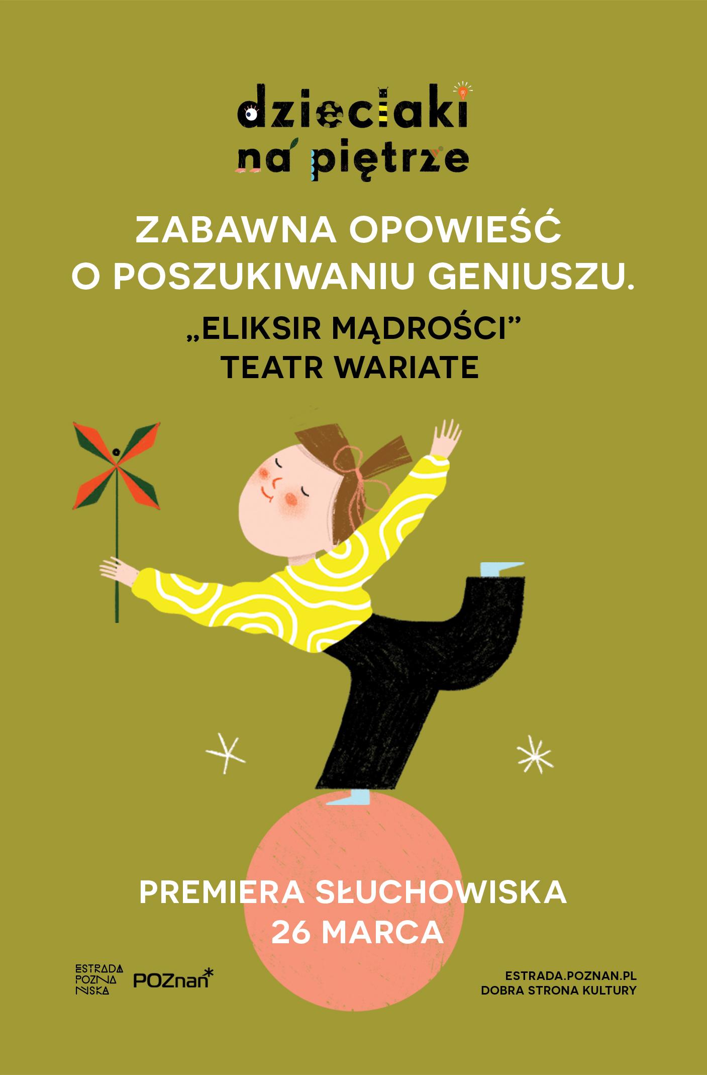 Dzieciaki na Piętrze: Eliksir mądrości - Teatr Wariate