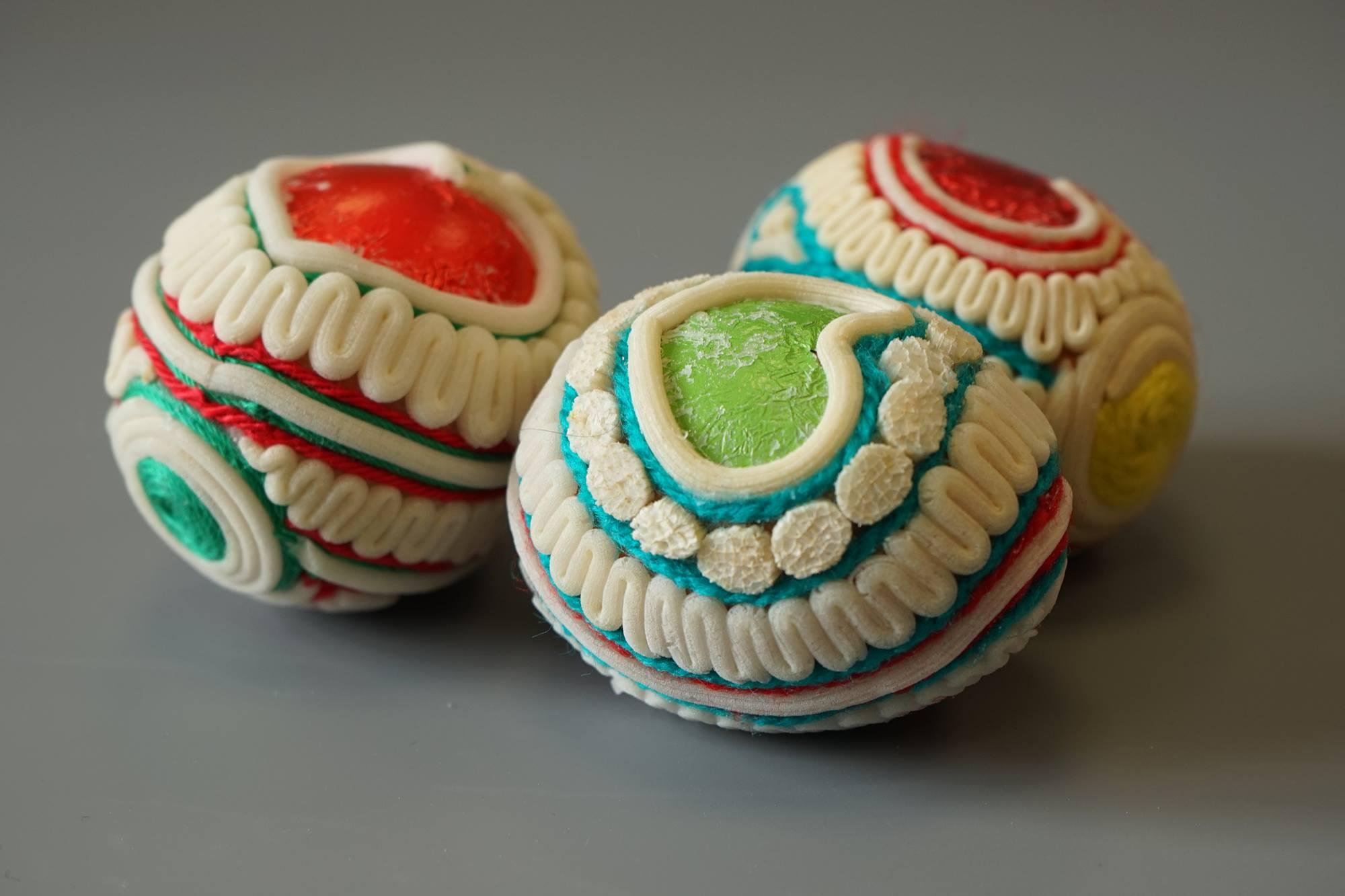 Jajeczka sitowiem zdobione - warsztaty online