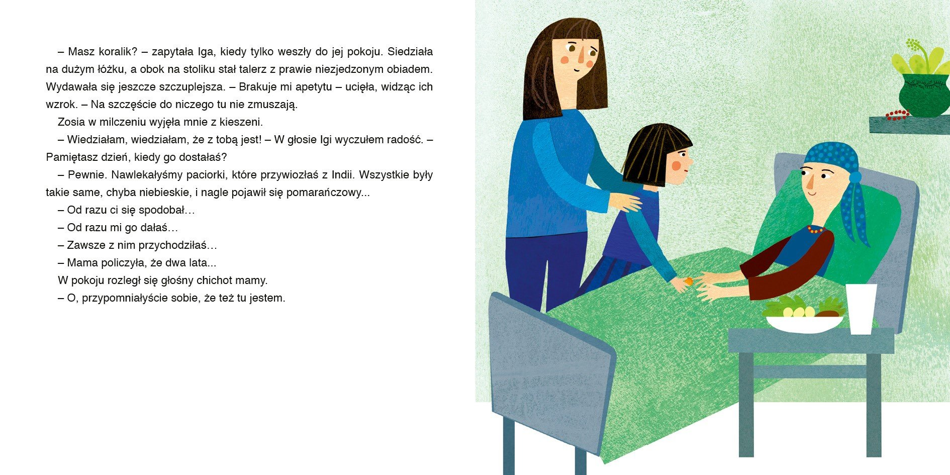 Koralikowa historia - książka z myślą o dzieciach, które straciły bliską osobę