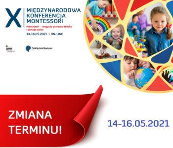 Weź udział w X Międzynarodowej Konferencji Montessori