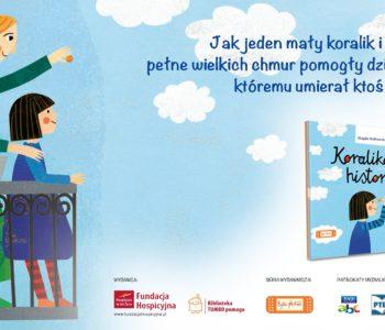 Koralikowa historia – książka z myślą o dzieciach, które straciły bliską osobę