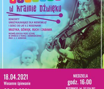 Maluchy w krainie dźwięku - koncerty dla najmłodszych. Ruda Śląska
