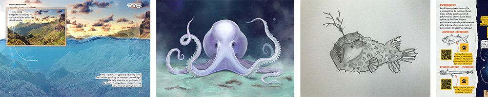 Nela i morskie głębiny