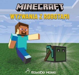 Bezpłatna lekcja pokazowa. Kurs Minecraft: wyzwania z Robotami 6-8 lat